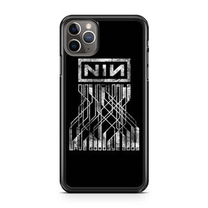 Nin Nine Inch Nails Wave Goodbye 2009 Grunge iPhone 11 Pro Max Case