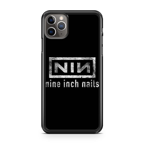 Nine Inch Nails Nin Grunge Logo iPhone 11 Pro Max Case