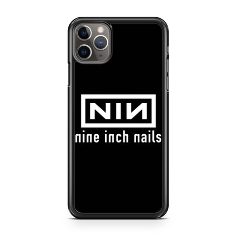 Nine Inch Nails Nin Logo iPhone 11 Pro Max Case