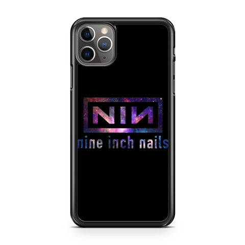 Nine Inch Nails Nin Nebula Logo iPhone 11 Pro Max Case