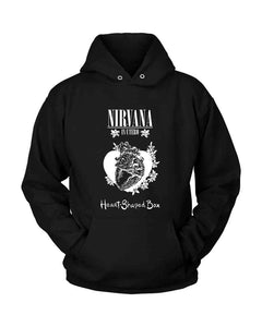 Nirvana Heart Shaped Box Unisex Hoodie