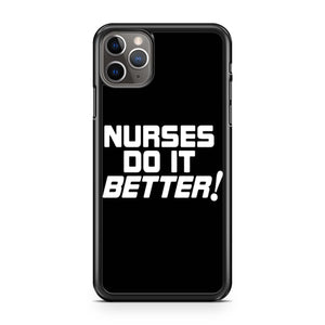 Nurses Do It Better Robert Plant Led Zeppelin Jimmy Page Medical Doctor Hostipal 70s Classic Rock iPhone Case