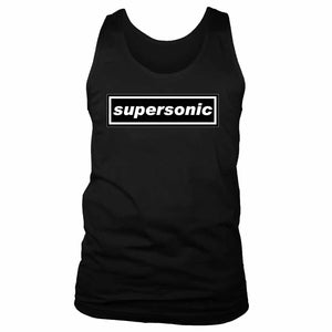 Oasis Inspired Supersonic Men's Tank Top