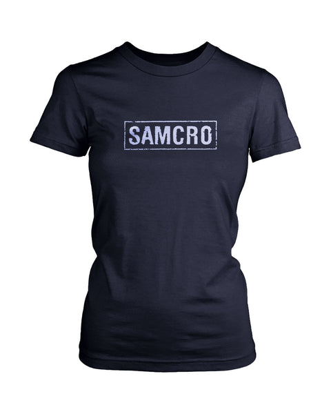 Official Sons Of Anarchy Samcro Banner Women's T-Shirt
