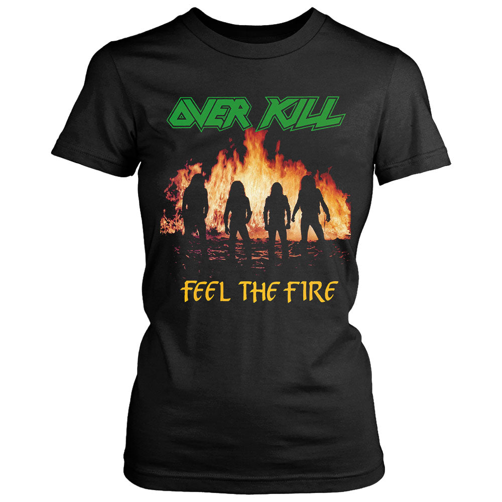 Overkill Feel The Fire Women's T-Shirt