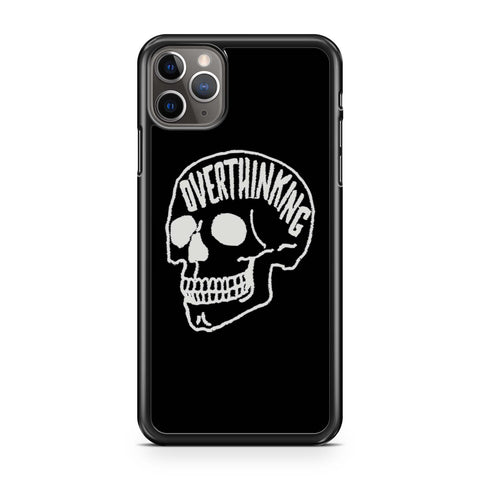 Overthinking Skull iPhone 11 Pro Max Case