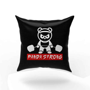 Panda Strong Funny Pillow Case Cover