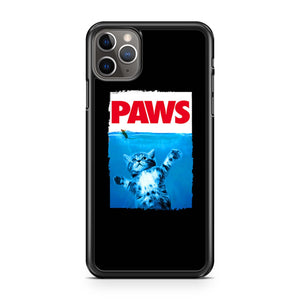Paws 80s Movie Parody iPhone 11 Pro Max Case