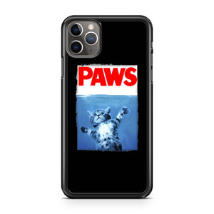 Paws Jaws Movie Kitten Kitty Cat iPhone Case