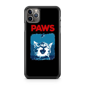Paws Jaws Shark Parody iPhone 11 Pro Max Case