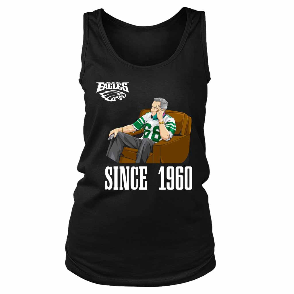 Philadelphia Eagles The Since 1960 Professional Sports Women's Tank Top