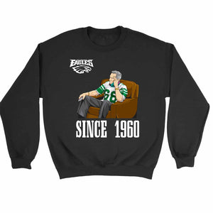 Philadelphia Eagles The Since 1960 Professional Sports Sweatshirt