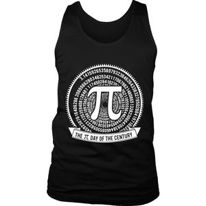 Pi Day Of The Century Math Men's Tank Top