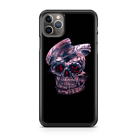 Pierce The Veil Hold On Till May Skull iPhone 11 Pro Max Case