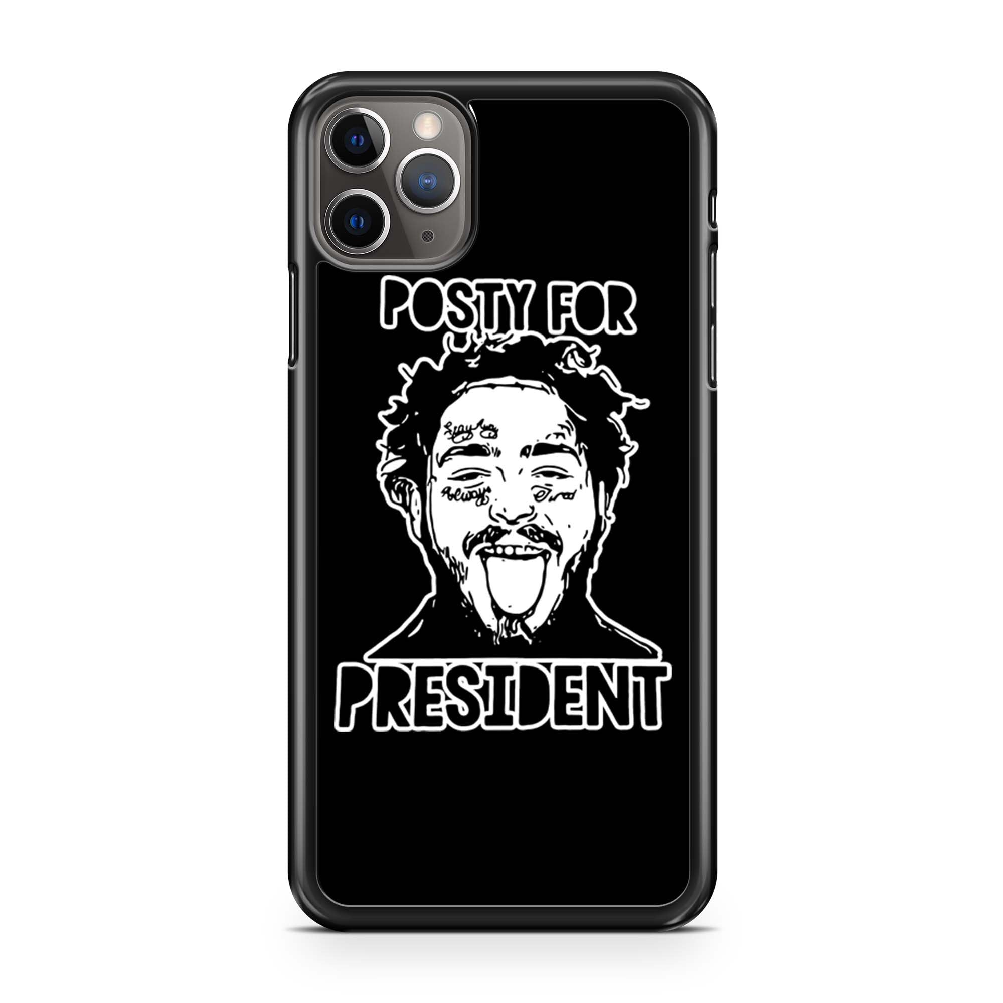 Posty For President Post Malone iPhone 11 Pro Max Case