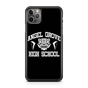 Power Rangers Angel Grove High School iPhone Case