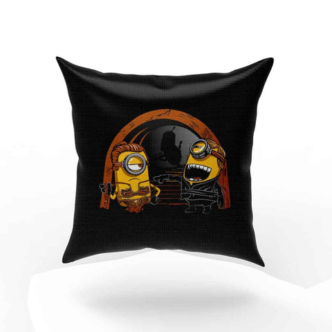Princess Leia Slave And Luke Skywalker Minion Star Wars Pillow Case Cover