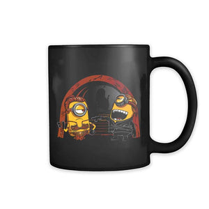 Princess Leia Slave And Luke Skywalker Minion Star Wars 11oz Mug