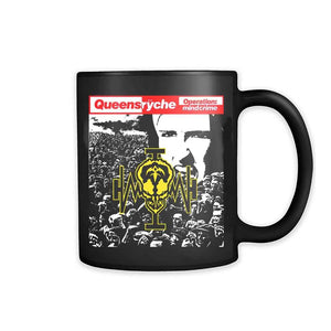 Queensryche Operation Mindcrime 88 Progressive Metal Savatage 11oz Mug