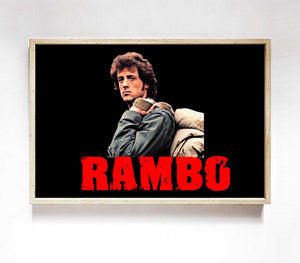 Rambo Survive Poster