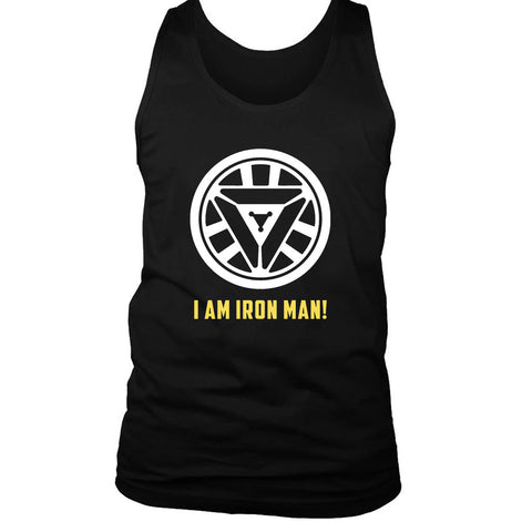 Reactor Iron Man I Am Iron Man Men's Tank Top
