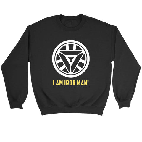Reactor Iron Man I Am Iron Man Sweatshirt