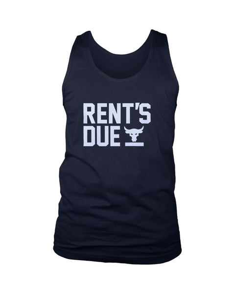 Rent Is Due The Rock Under Armour Men's Tank Top