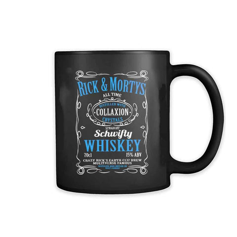 Ricks Schwifty Whiskey Comedy 11oz Mug