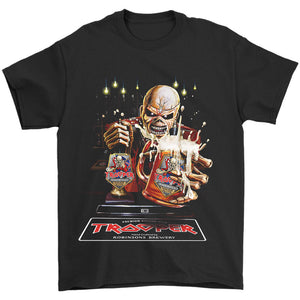 Robinsons And Iron Maiden Trooper Tour Parties  The Beer Is Here Men's T-Shirt