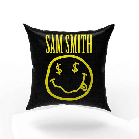 Sam Smith Nirvana Nevermind Pillow Case Cover