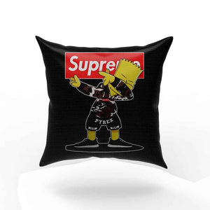 Simpson Dabbing Dance Red Box Logo Pillow Case Cover
