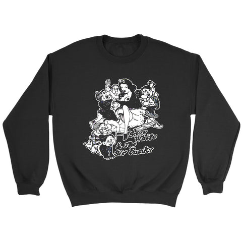 Snow White And The Sir Punks Ex Drugs Punk Rock N Roll Vintage Sweatshirt