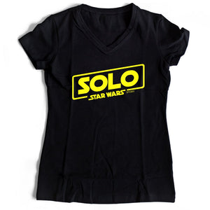Solo A Star Wars Story Women's V-Neck Tee T-Shirt