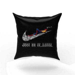 Spiderman Just Do It Later Pillow Case Cover