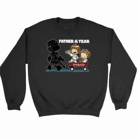 Star Wars Darth Vader Father Cute Princess Luke Wagon Free Shipping Sweatshirt