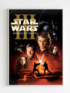 Star Wars Iii Revenge Of The Sith Poster