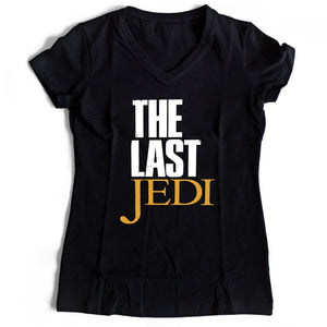 Star Wars Parody The Last Of Us The Last Jedi Women's V-Neck Tee T-Shirt