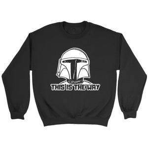 Star Wars The Mandalorian This Is The Way Sweatshirt