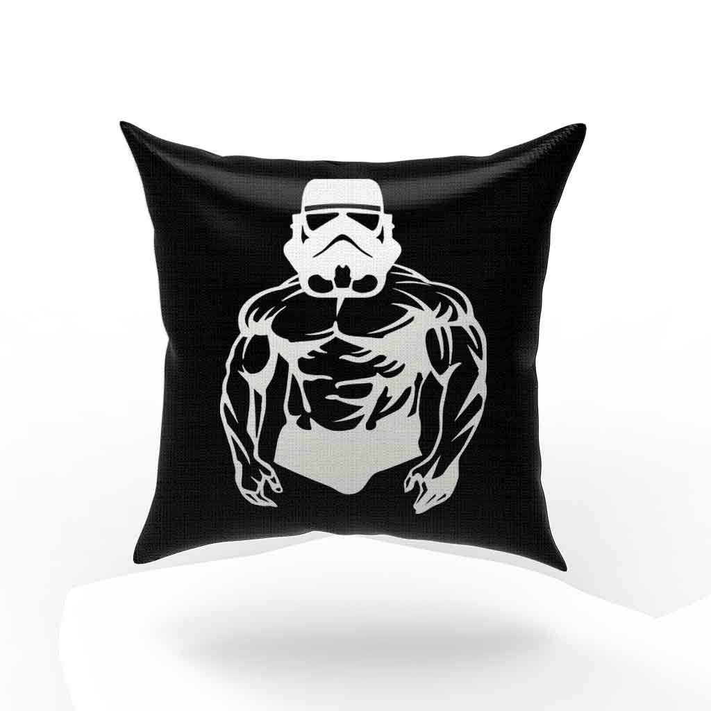 Starwars Bodybuilding Fitness Stringer Workout Gym Pillow Case Cover
