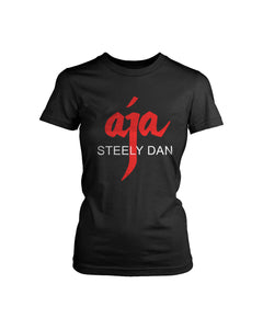 Steely Dan Aja Logo Rock Music Legend Women's T-Shirt