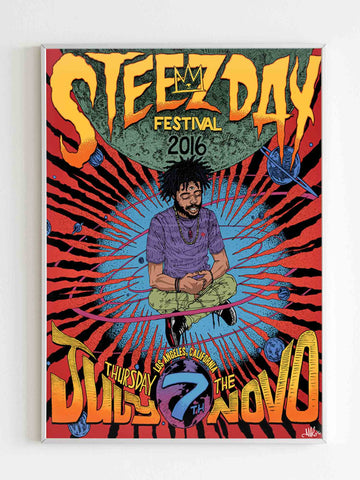 Steez Day Festival Poster Pro Era Asab Poster