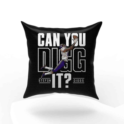 Stefon Diggs Minnesota Football Pillow Case Cover