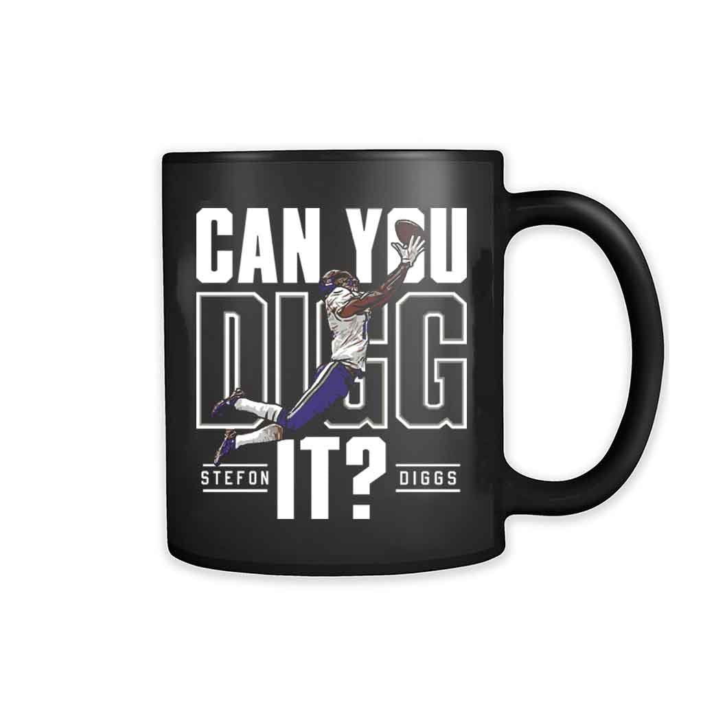Stefon Diggs Minnesota Football 11oz Mug