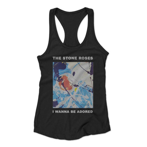 Stone Roses I Wanna Be Adored Woman's Racerback Tank Top