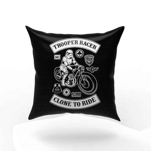 Stormtrooper Biker Racer Funny Star Wars Pillow Case Cover