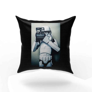 Stormtrooper Star Wars Selfie Retro Pillow Case Cover