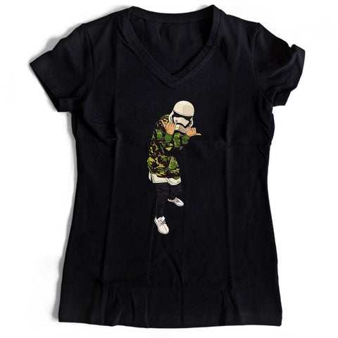 Supreme Stormtrooper Women's V-Neck Tee T-Shirt