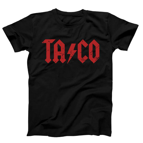 Taco Acdc Style Men's T-Shirt