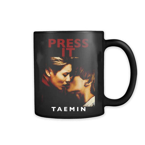 Taemin Press It Album Cover 11oz Mug