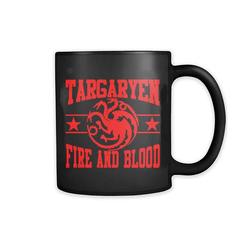 Targaryen House Fire And Blood Mother Of Dragons Game Of Thrones 11oz Mug